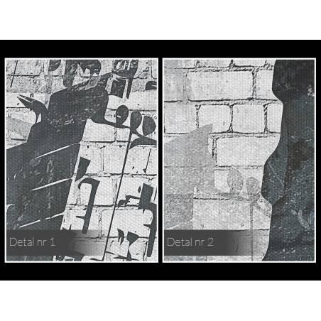 Wrocławski Manhattan - nowoczesny obraz na płótnie - 120x80 cm