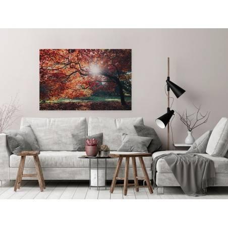 Nim opadną liście - fotoobraz do salonu - 120x80 cm
