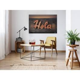 Hola - fotoobraz do salonu - 120x80 cm