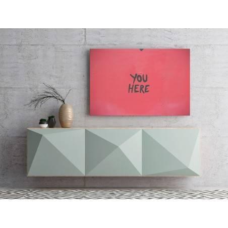 You here - fotografia na płótnie - 120x80 cm