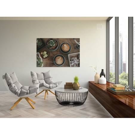 Spotkanie z naturą - fotoobraz do kuchni - 120x80 cm