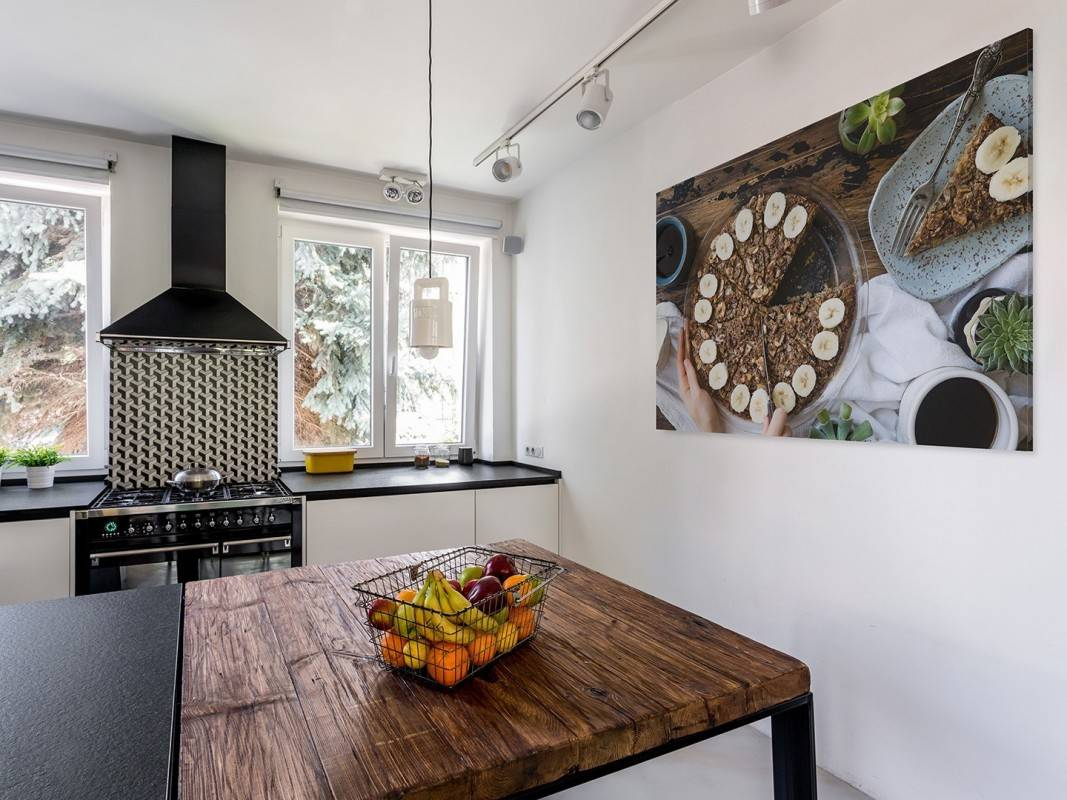 Podzielmy się szczęściem - fotoobraz do kuchni - 120x80 cm