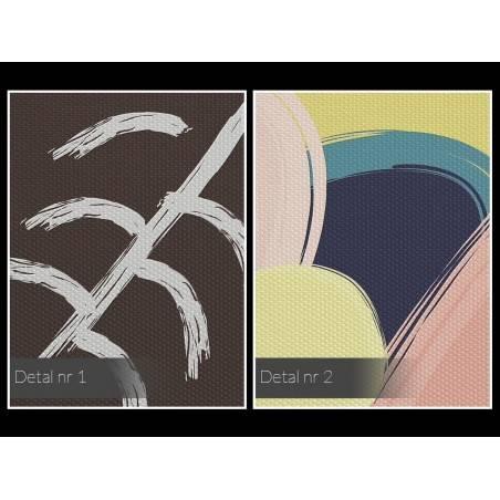 Tantryczna rewolucja - nowoczesny obraz do salonu - 120x80 cm
