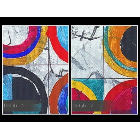 Pokrewne dusze - nowoczesny obraz na płótnie - 120x80 cm