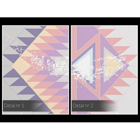 Skarb Azteków - nowoczesny obraz na płótnie - 120x80 cm