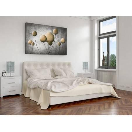 Mosiężny balonik - nowoczesny obraz na płótnie - 120x80 cm