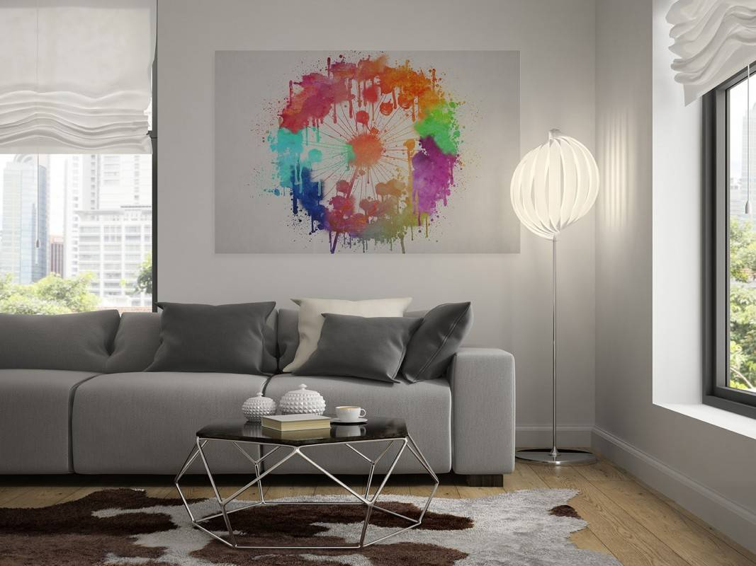 Łut szczęscia - nowoczesny obraz na płótnie - 120x80 cm