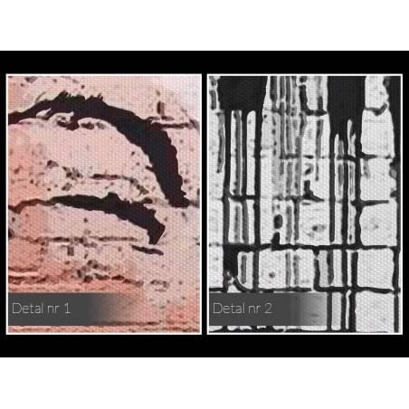 Banksy - Life is beautiful - nowoczesny obraz na płótnie - 120x80 cm