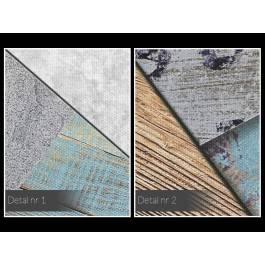 Strukturologia - nowoczesny obraz do salonu