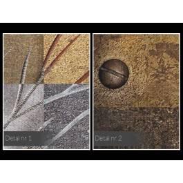 Filary wieczności - nowoczesny obraz na płótnie - 120x80 cm